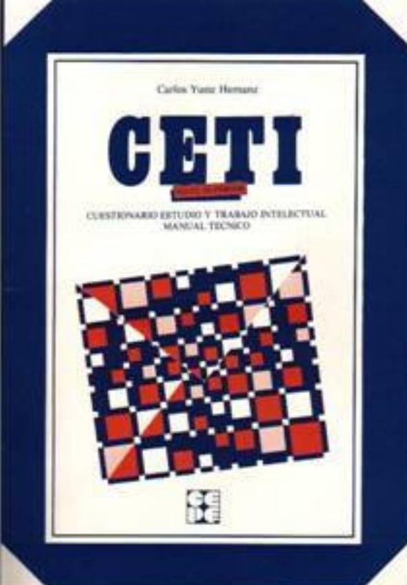 CETI Superior. Cuestionario de estudio y trabajo intelectual. Nivel 15 a 19 años.