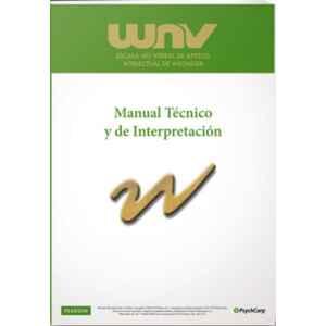 WNV Escala No Verbal de Aptitud Intelectual de Wechsler