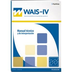 WAIS IV Escala de inteligencia de Wechsler para adultos. Versión Española