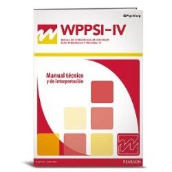WPPSI IV Escala de Inteligencia de Wechsler para los niveles preescolar y primaria.