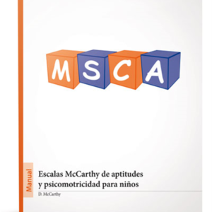 MSCA Escala McCarthy de aptitudes y psicomotricidad para niños