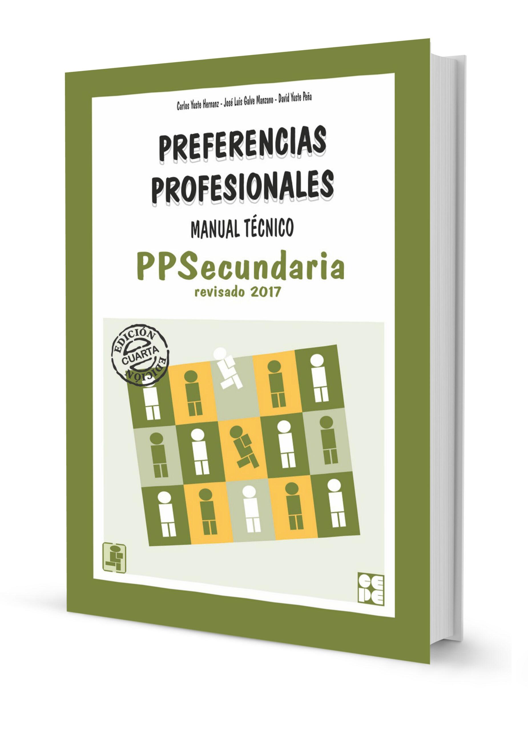 PPS Preferencias Profesionales  (Secundaria)