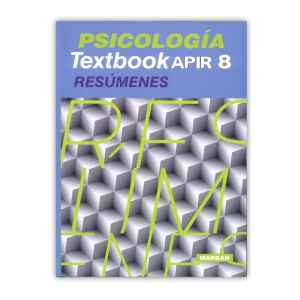 Textbook APIR 8 – Psicología Resúmenes