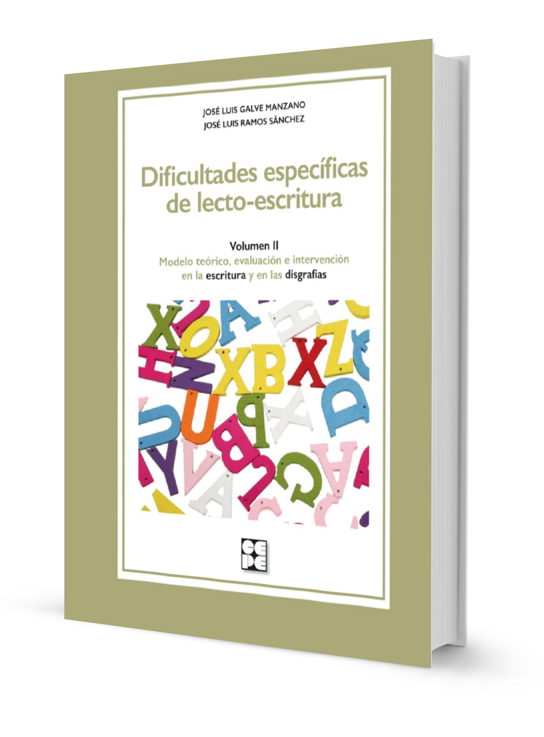 Dificultades específicas de lecto-escritura. Volumen 2