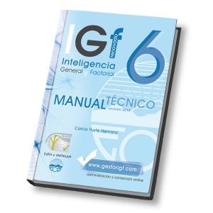 IGF-6R Inteligencia General y Factorial