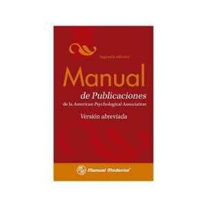 Manual de publicaciones de la APA. Versión abreviada