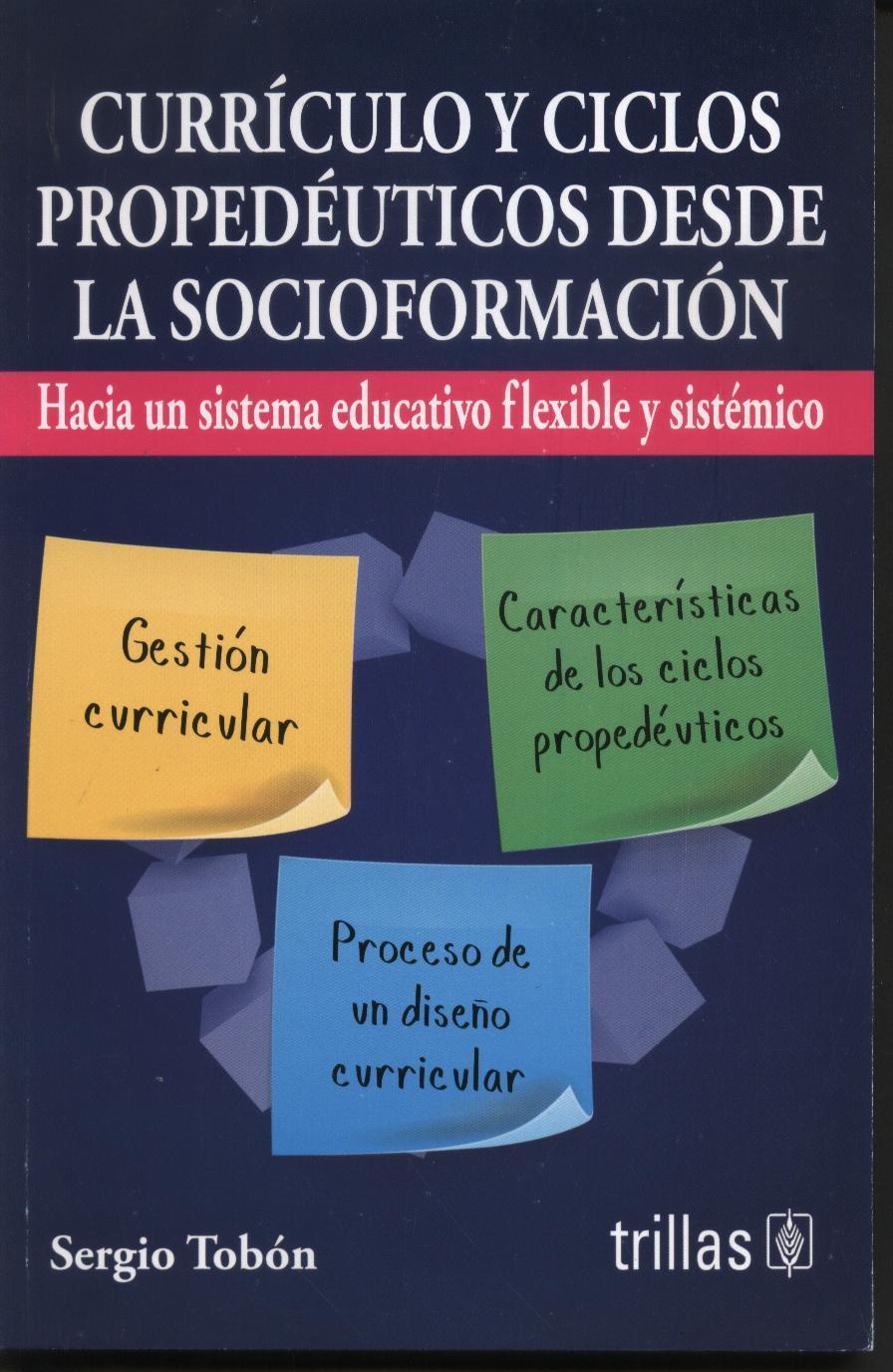 Currículo y ciclos propedéuticos desde la socioformación