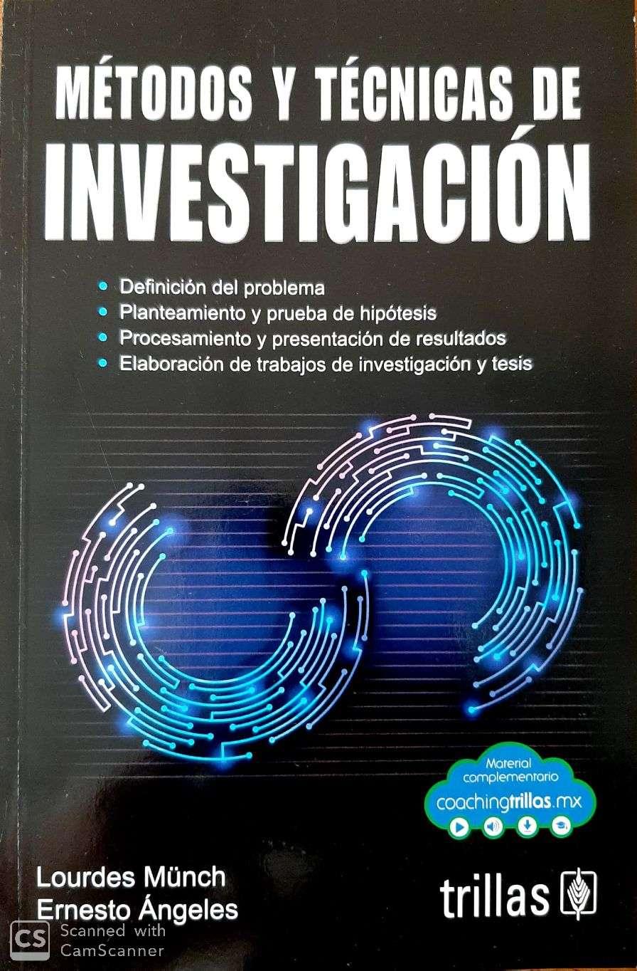 Metodos y técnicas de investigación